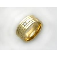 Обручальные кольца из трубы
